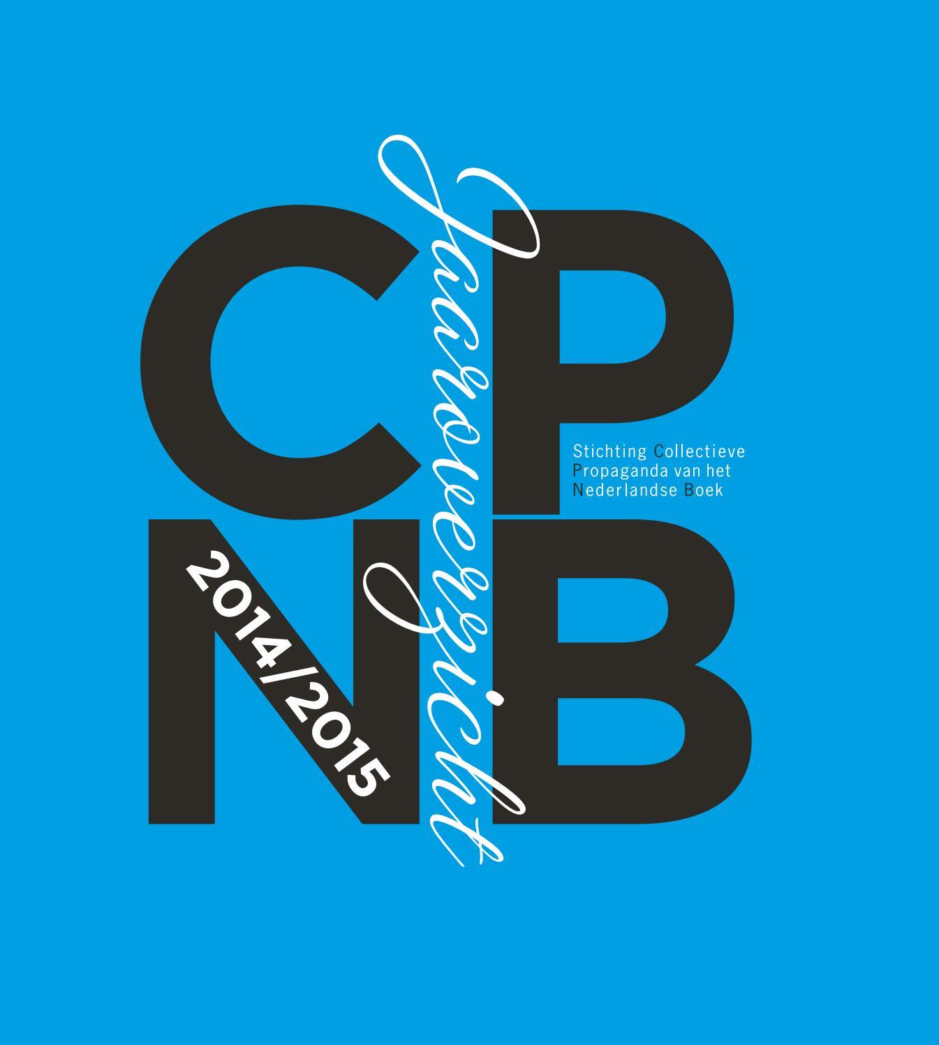 Jaaroverzicht Stichting Cpnb 2014 2015 By Stichting Cpnb