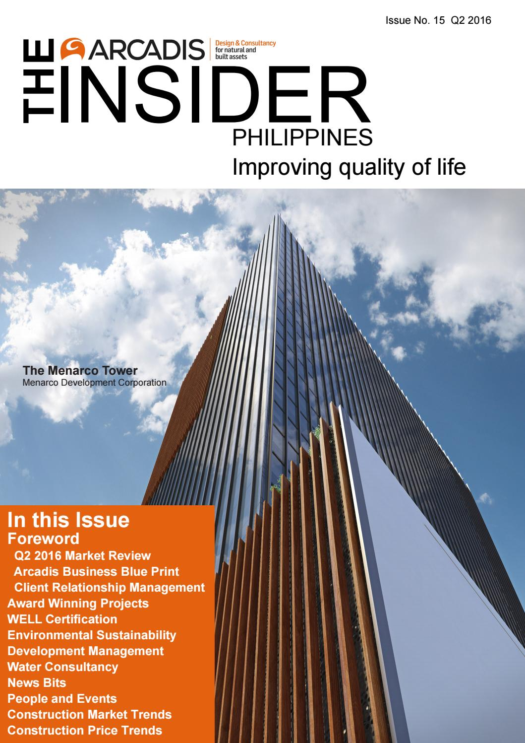 Arcadis insider june 2016 issue by arcadis issuu for Arcadis consulting