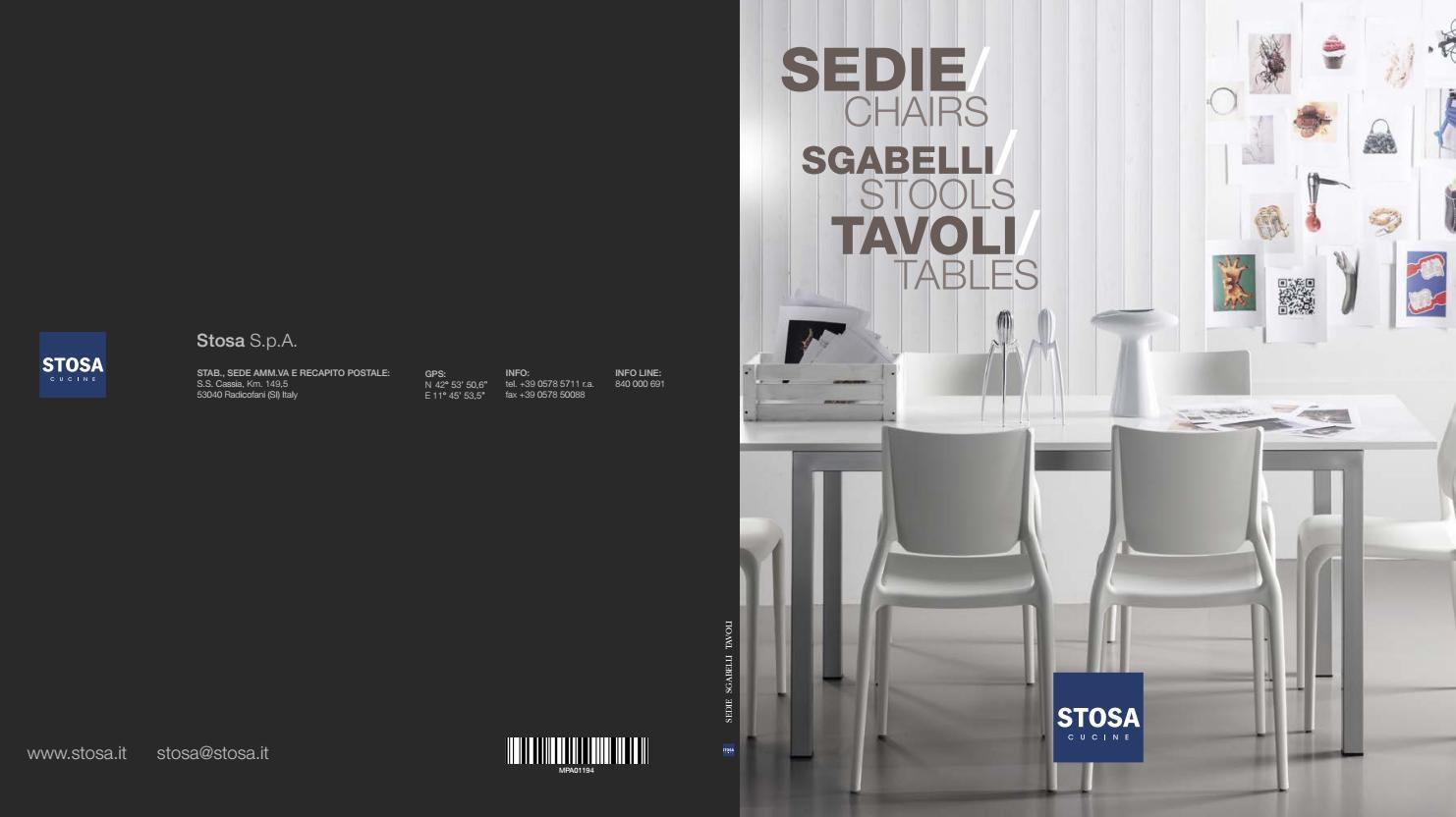 Tavoli Allungabili E Sedie In Coordinato.Catalogo Tavoli E Sedie 2016 Stosa Cucine By Stosa Cucine Issuu