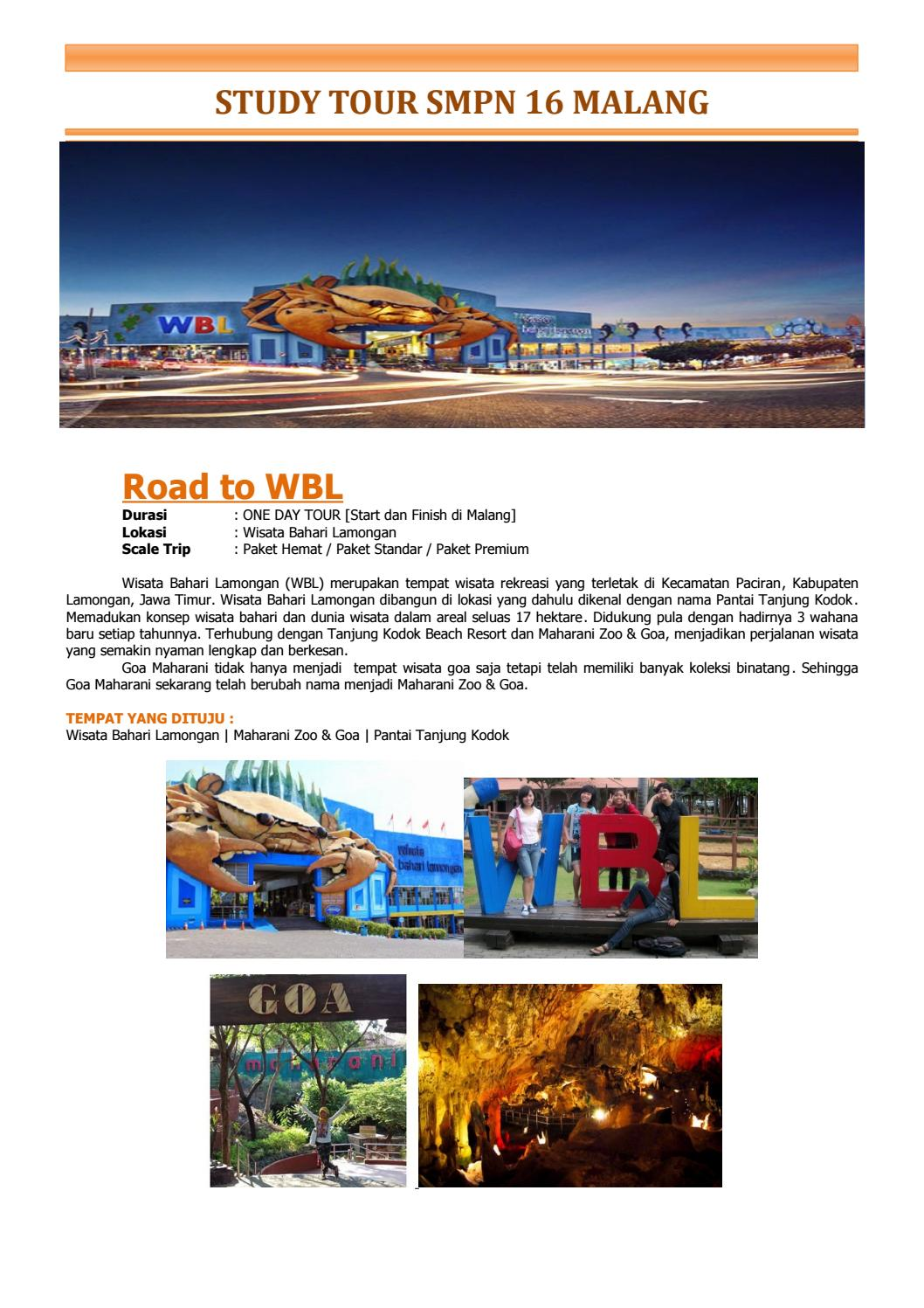 Paket Road To Wbl By Ohnisa Issuu