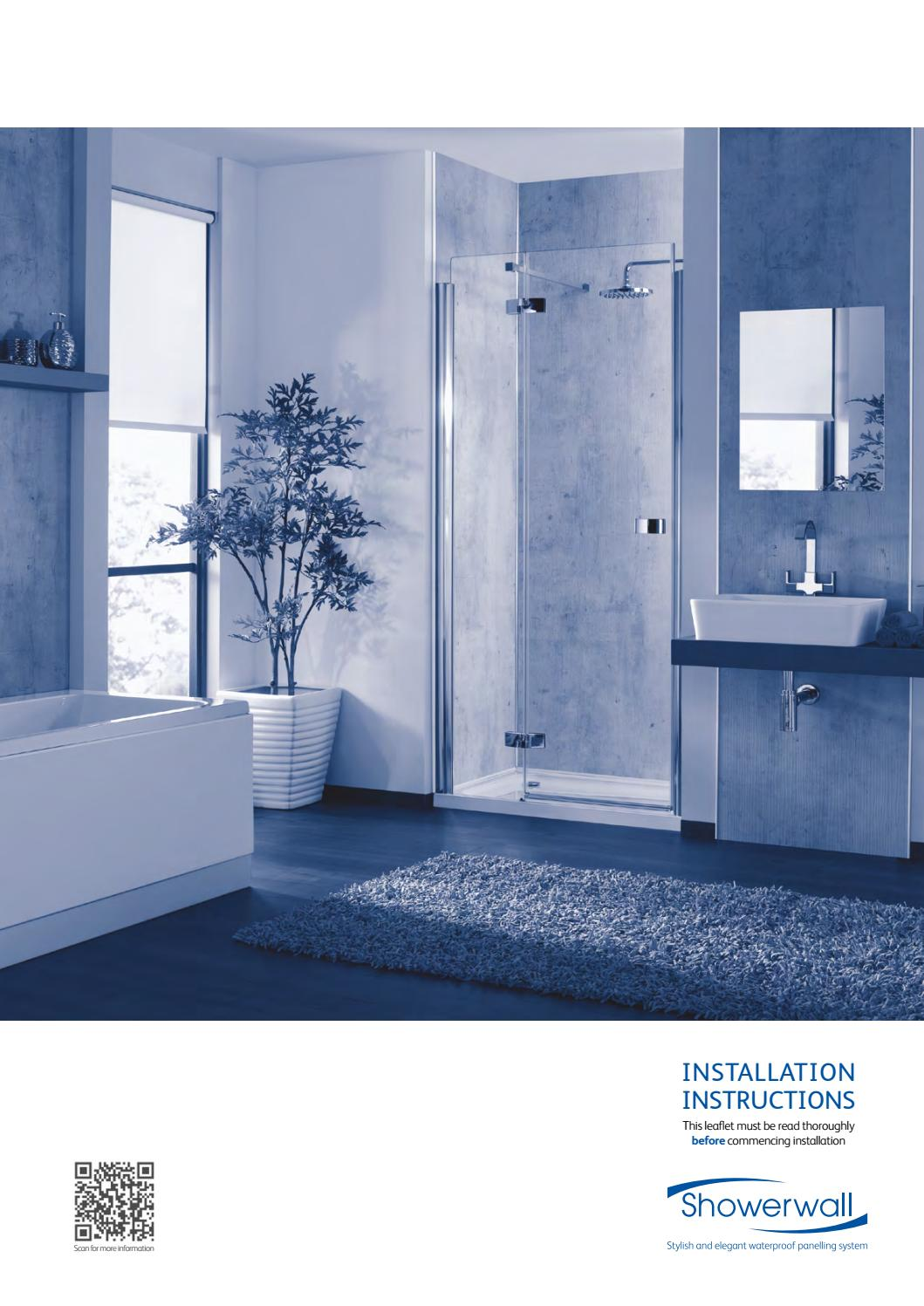Showerwall Installation Instructions by IDSurfaces - issuu