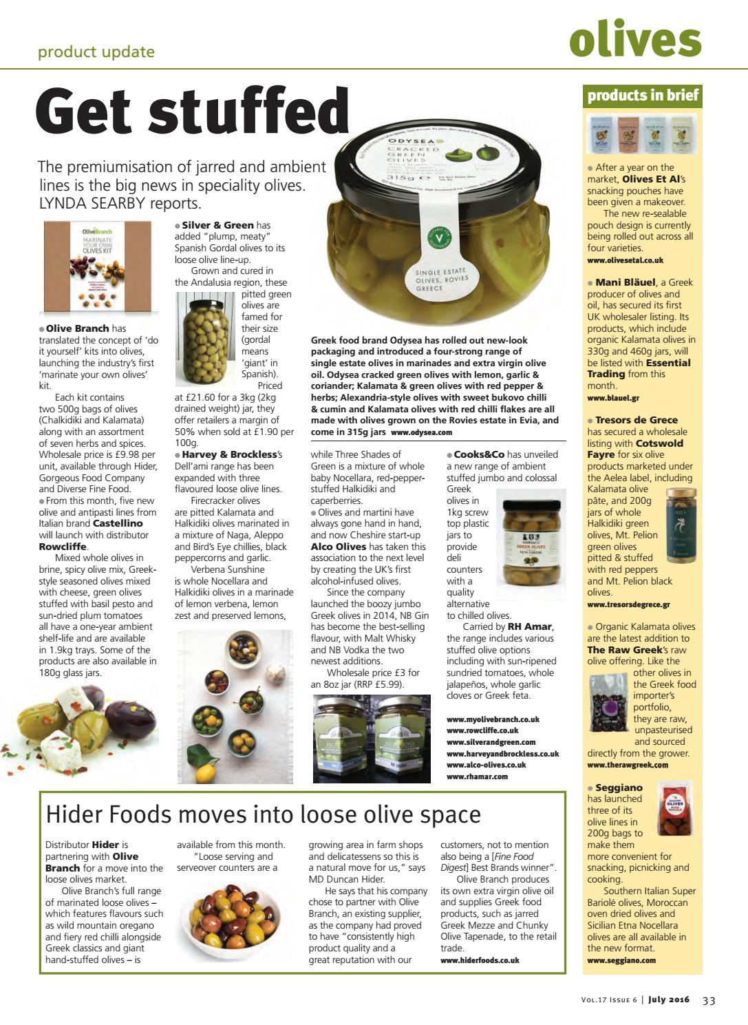 FFD July 2016 by Guild of Fine Food - issuu