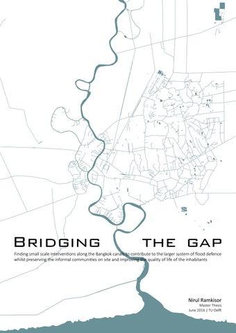 Bridging the Gap MSc thesis TU Delft by Nirul Ra issuu