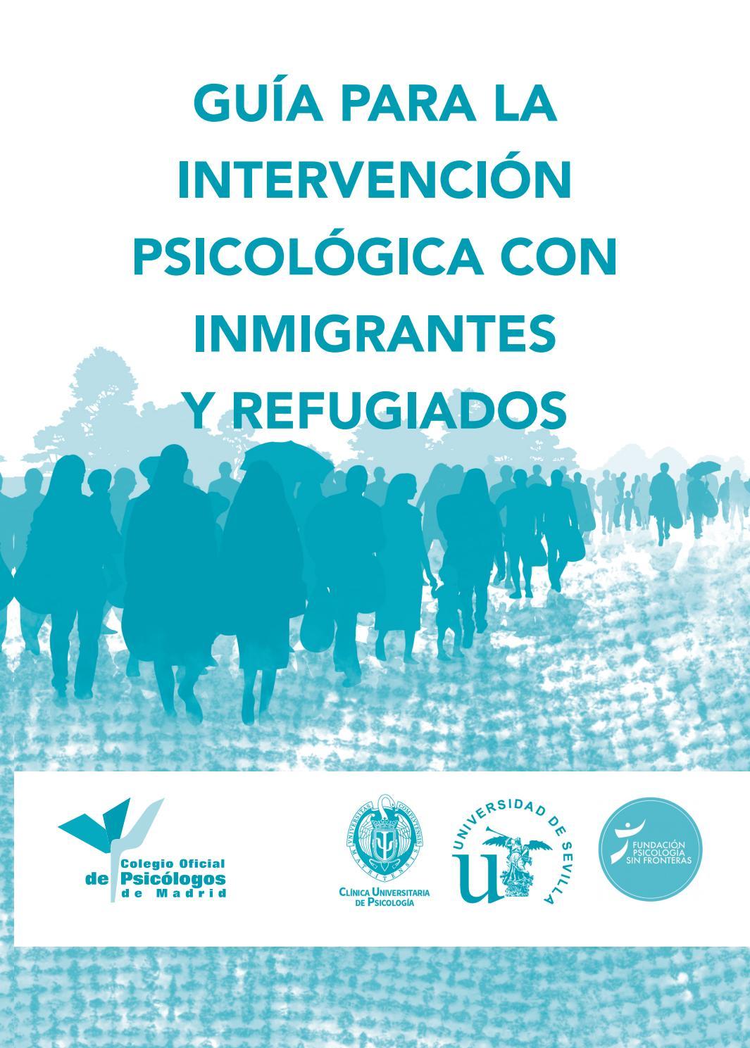 Guía para la Intervencion Psicologica con Inmigrantes y Refugiados ...