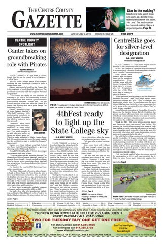 Centre County Gazette June 30 2016 By Indiana Printing Publishing Issuu