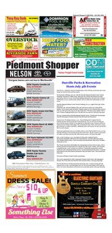 a2a42f4047 Piedmont Shopper June 30 - July 6
