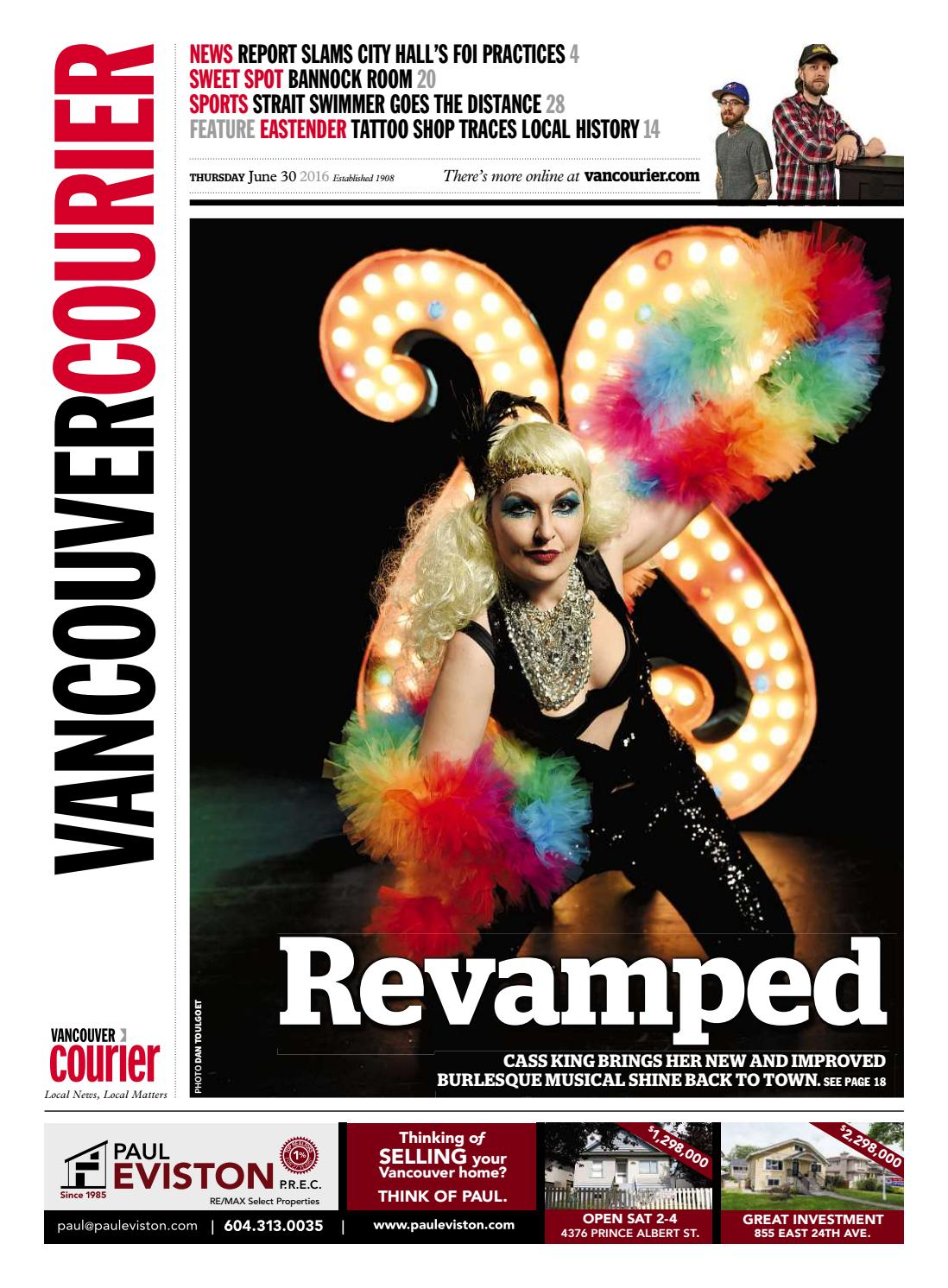 634c1a5fc4392 Vancouver Courier June 30 2016 by Vancouver Courier - issuu