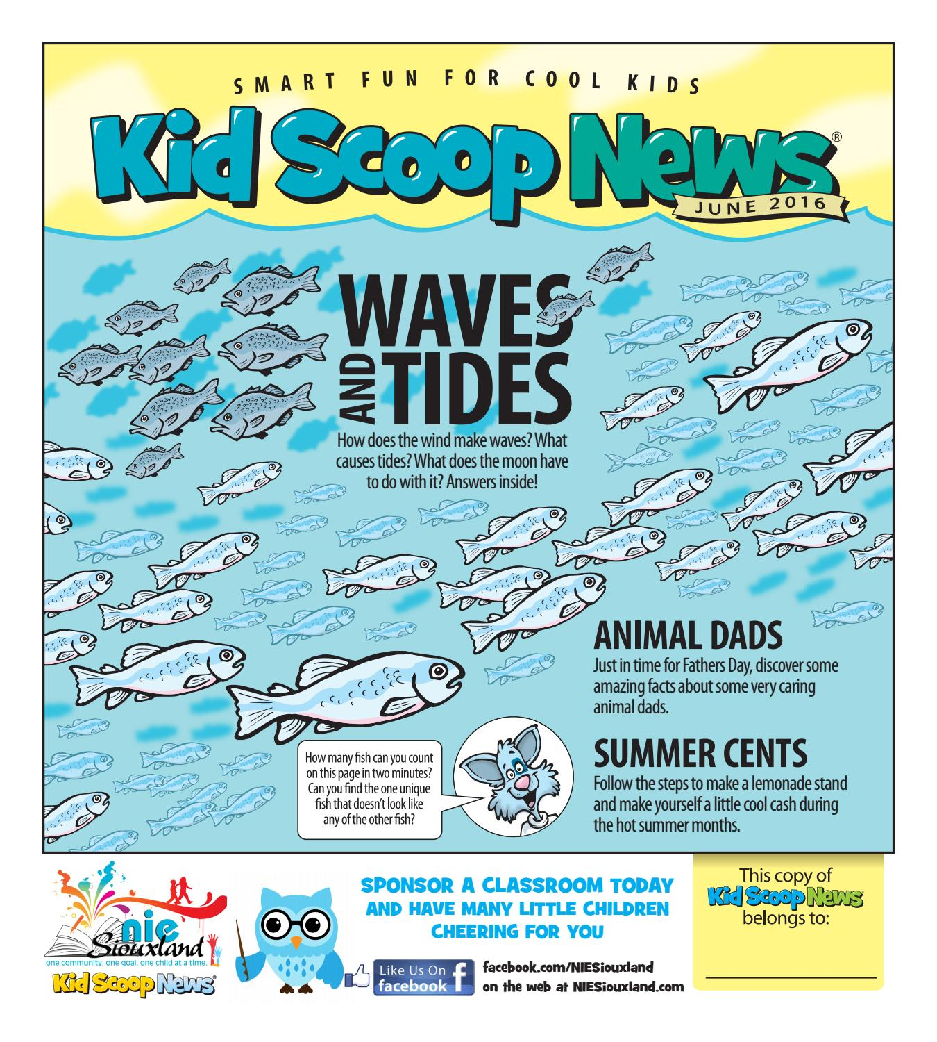 Kids Scoop News - April 2016 by Sioux City Journal - issuu