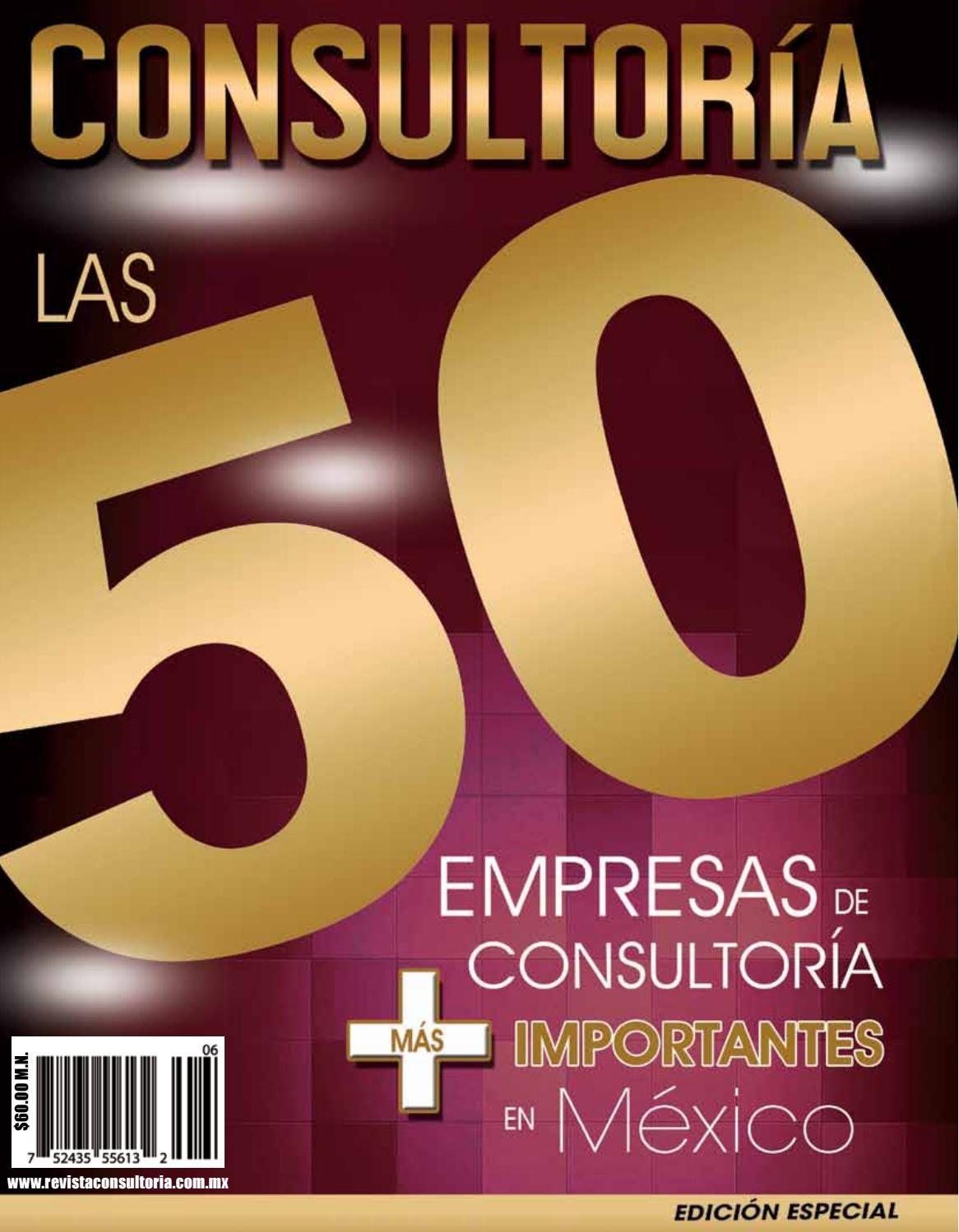 REVISTA CONSULTORIA Edición Especial 7 by Revista Consultoría - issuu