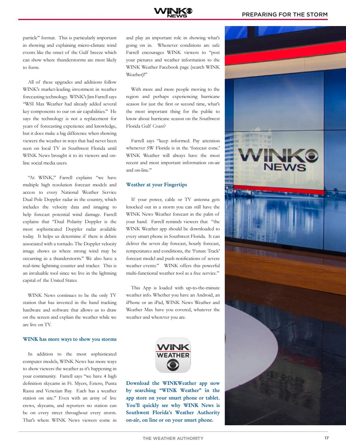 2016 WINK News Hurricane Guide by Wink - issuu