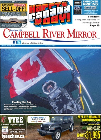 a9d14fbe491 Campbell River Mirror, July 01, 2016 by Black Press Media Group - issuu