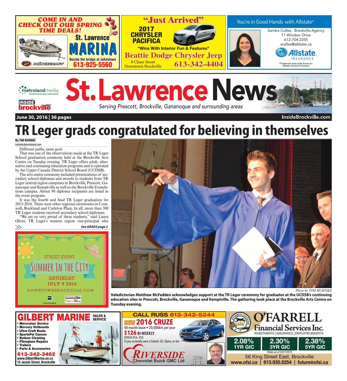 bf9124384bdd1c Stlawrence063016 by Metroland East - St. Lawrence News - issuu