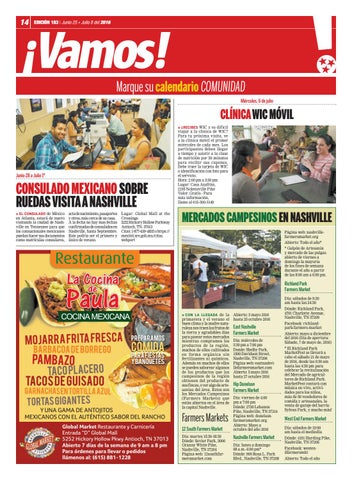 Hola TN - Ed  183 by Hola Tennessee Newspaper - issuu
