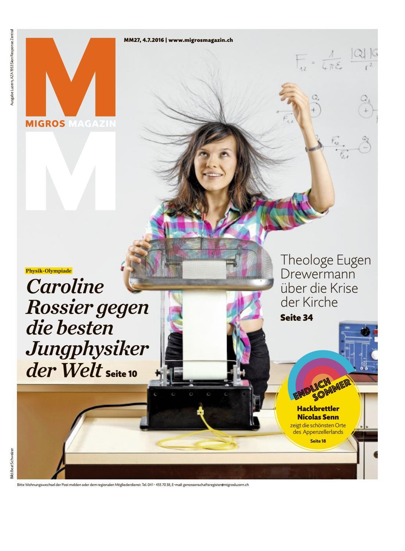 21. Jahrgang August 2017 Christoph Hrlimann Gemeinderat