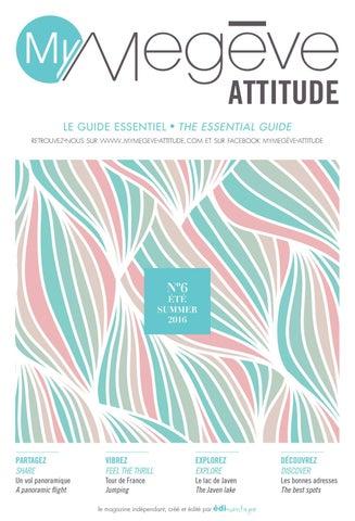 Édimontagne Issuu Attitude By 2016 My Megève Été BEQdCoerxW