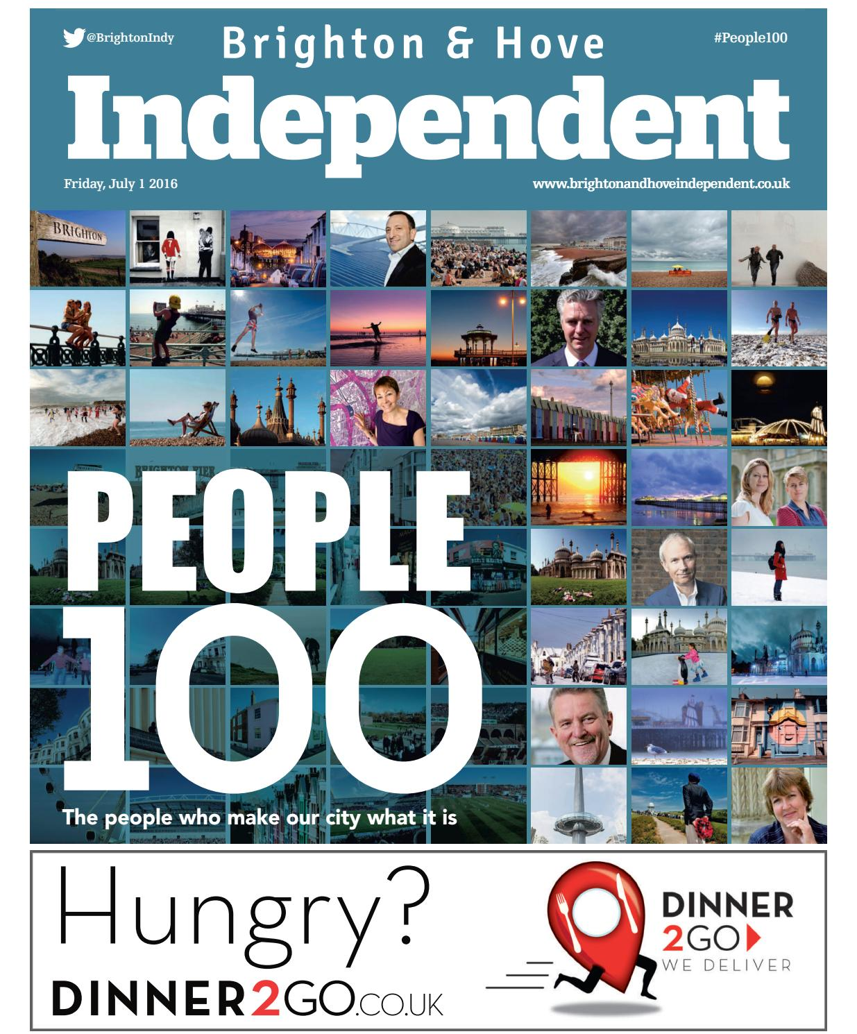 Brighton \u0026 Hove Independent: People 100 - 1 July 2016 by Brighton ...