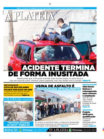 f0a54a70a 20160701 by Jornal A Plateia Livramento - issuu