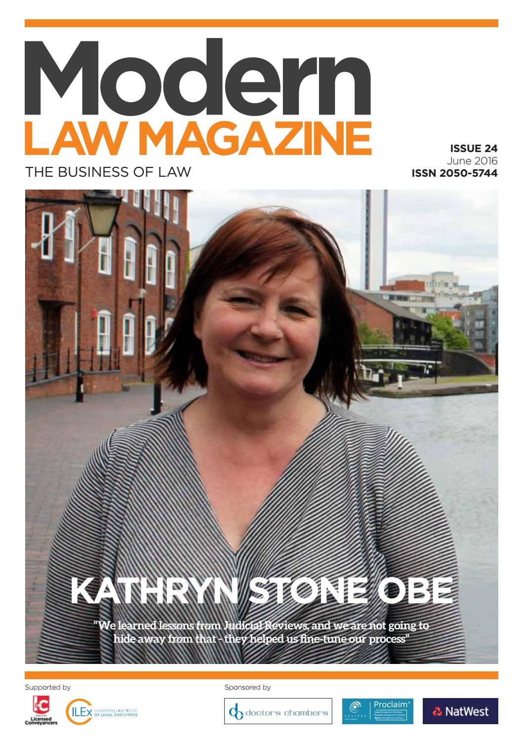 Modern Law Magazine Issue 24 by Charlton Grant - issuu