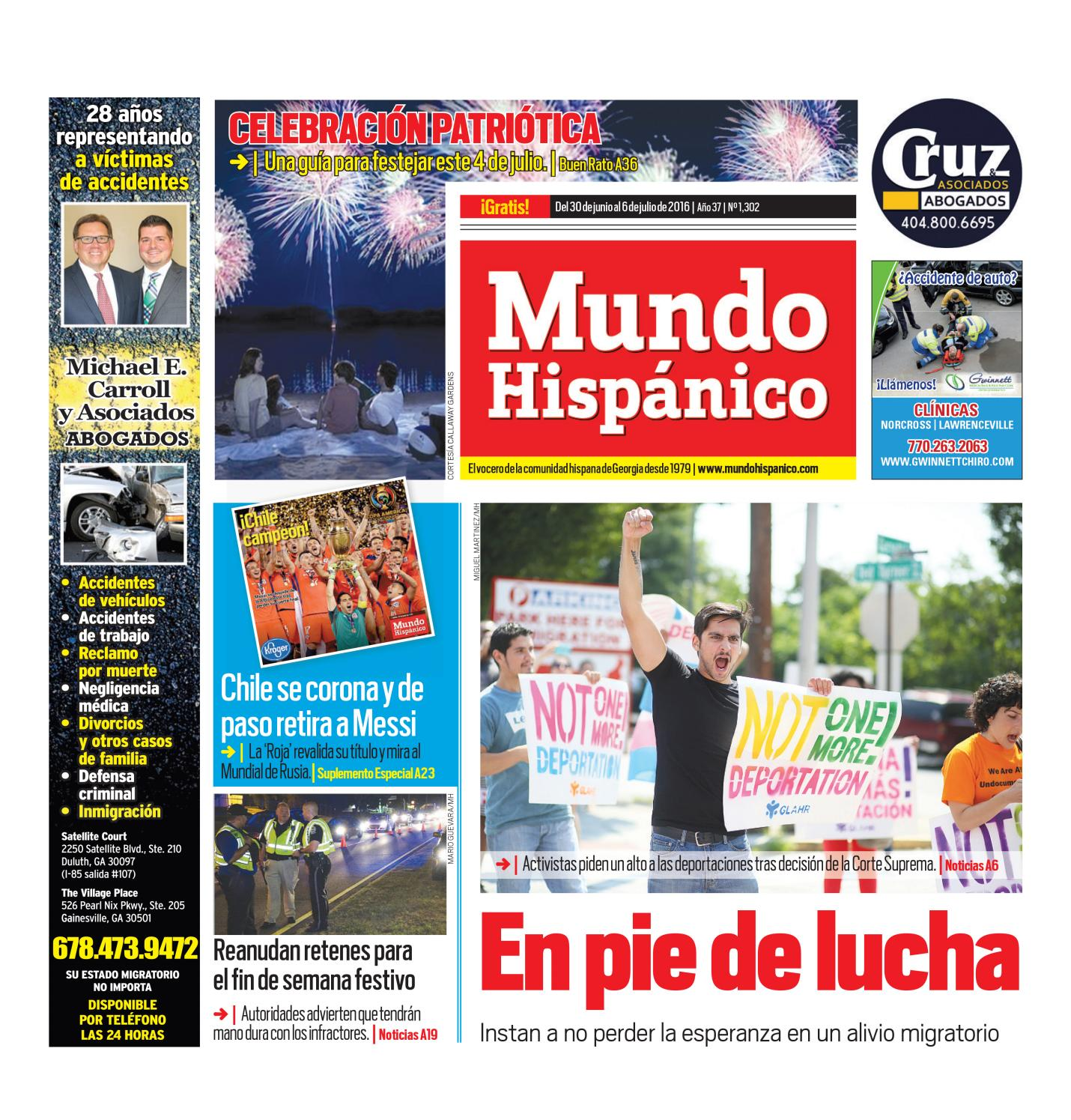 Mund 06302016 mundo a1 by MUNDO HISPANICO - issuu