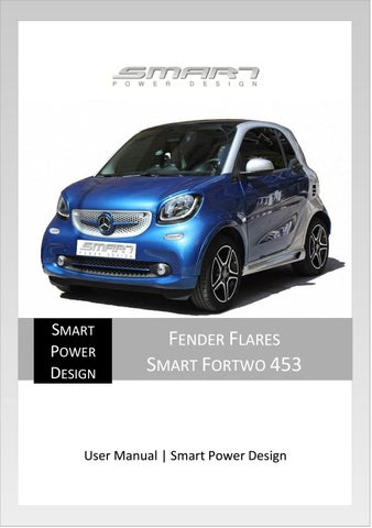 fender flares smart fortwo 453 user manual by smart tuning issuu rh issuu com smart fortwo 2008 user manual smart fortwo user manual pdf