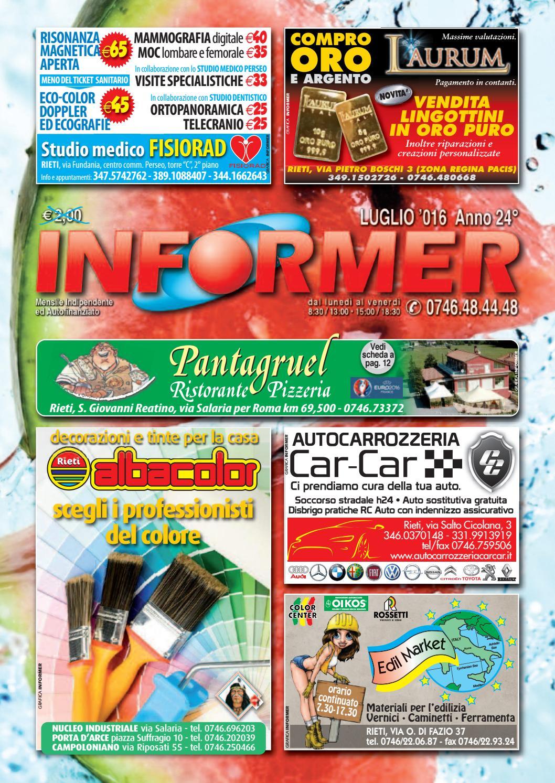 INFORMER Luglio 2016 by informer - issuu a811f0e1467
