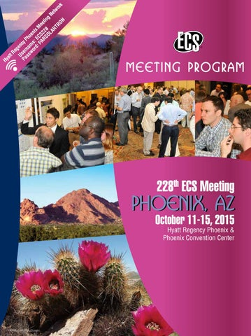 228th ECS Meeting: Meeting Program by The Electrochemical