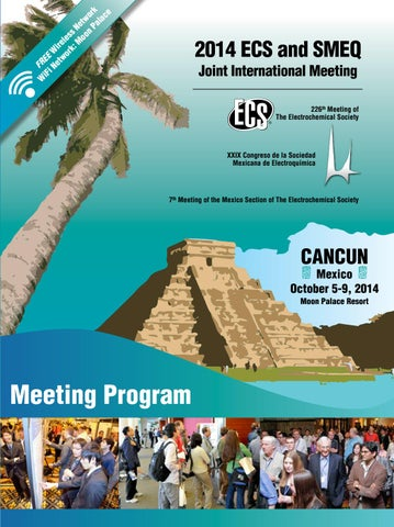2014 ECS & SMEQ: Meeting Program by The Electrochemical