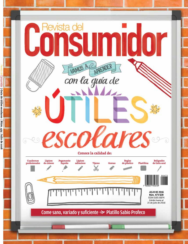 Edición número 473 julio 2016 by PROFECO - issuu