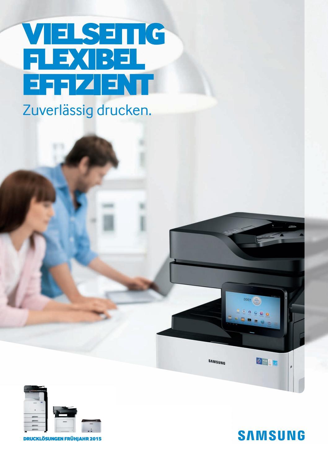 Drucken, Scannen, Kopieren, 9.600 x 600 dpi, 512 MB Speicher, 533 MHz Prozessor Samsung CLX-6260ND//SEE Farblaser-Multifunktionsger/ät