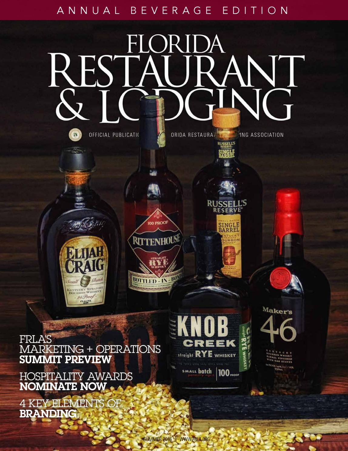 florida restaurant lodging magazine summer 2016 by florida restaurant and lodging magazine issuu - Raised Panel Restaurant 2016