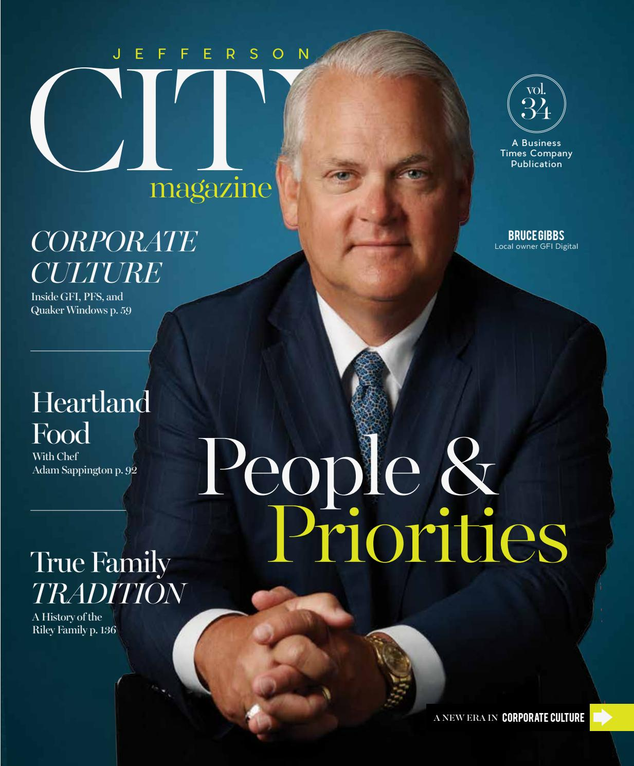 Jefferson City Magazine July August 2016 By Business Times Company