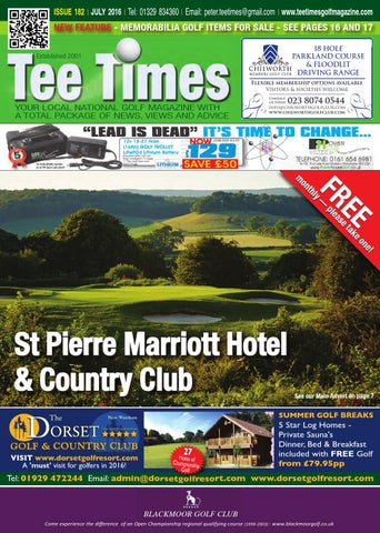 Tee Times Golf Magazine, July 2016 by Tee Times Golf
