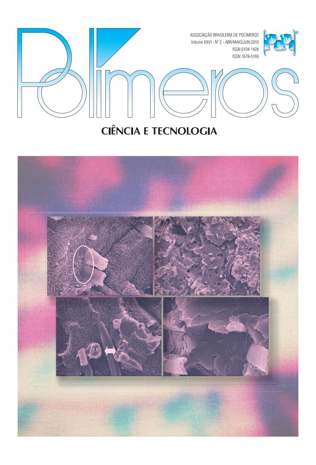 Polímeros Ciência e Tecnologia, vol.26, n.2, 2016 by Polímeros ...