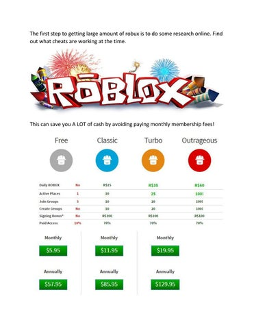 Roblox Cheats How To Get Free Robux With Hacks By Roblox Issuu