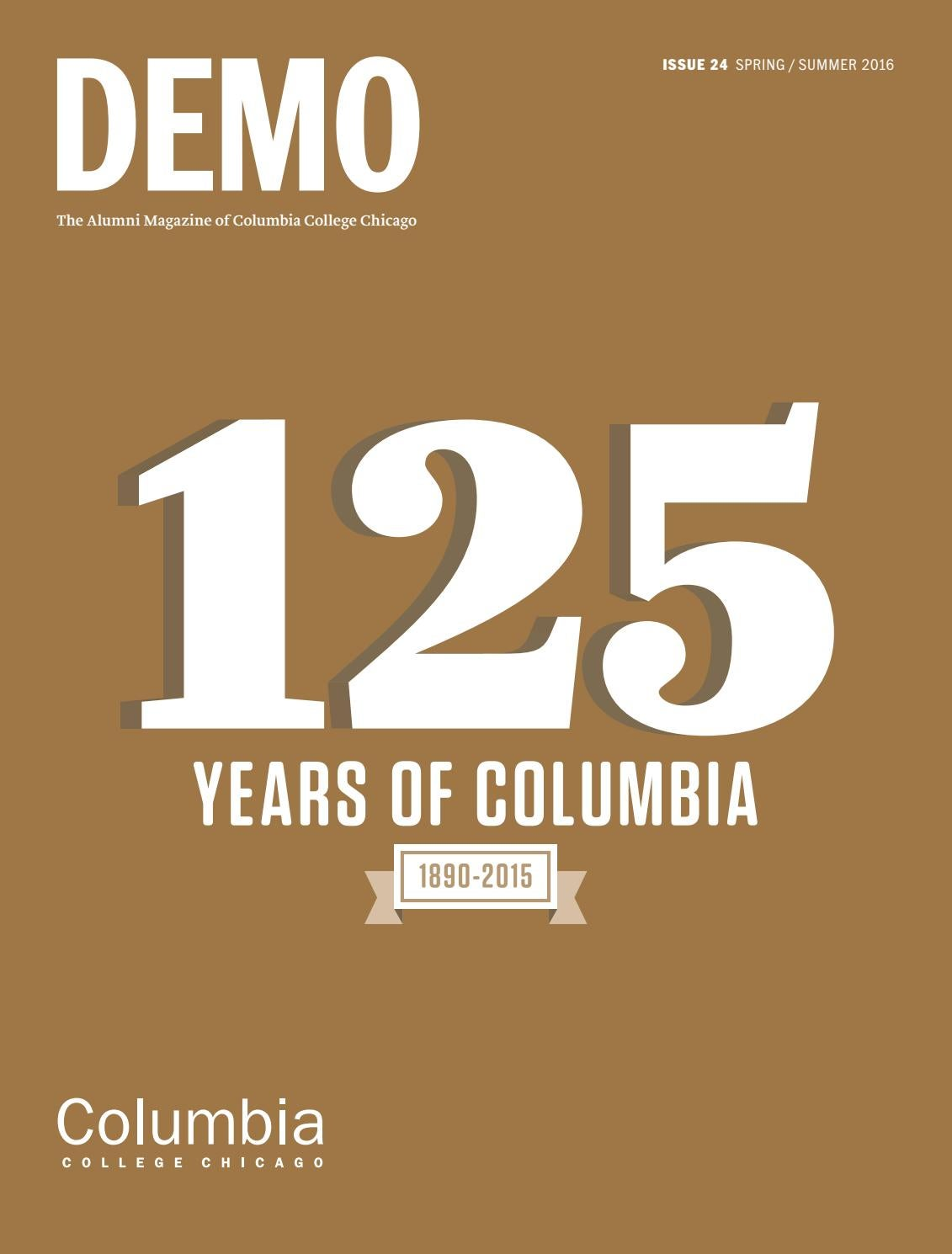 Demo 24 by Columbia College Chicago - issuu