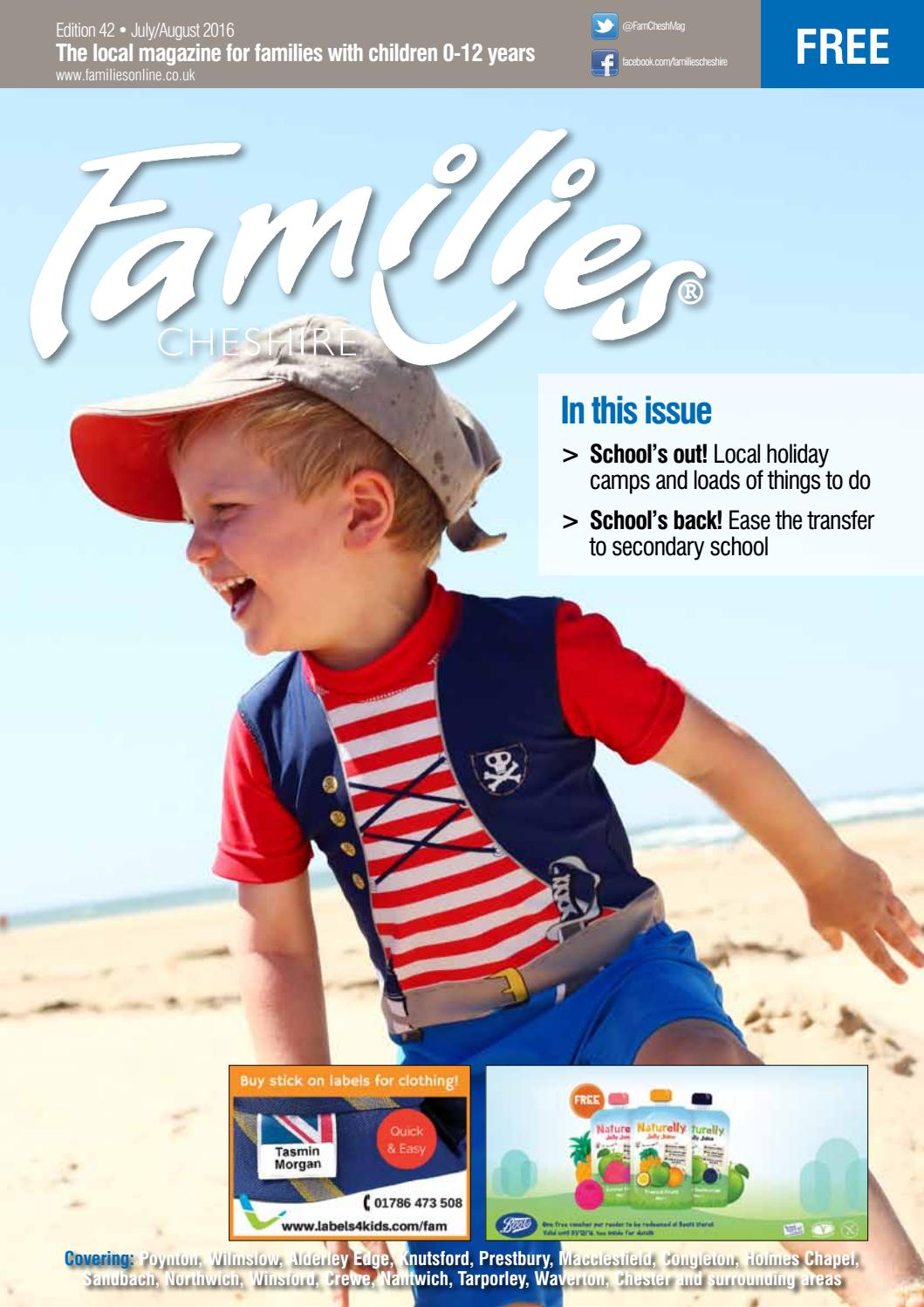 families cheshire issue 42 july aug 2016 by familiesonline