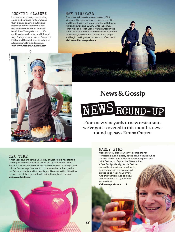 Feast Norfolk Magazine July 16 Issue 07 by Feast Norfolk