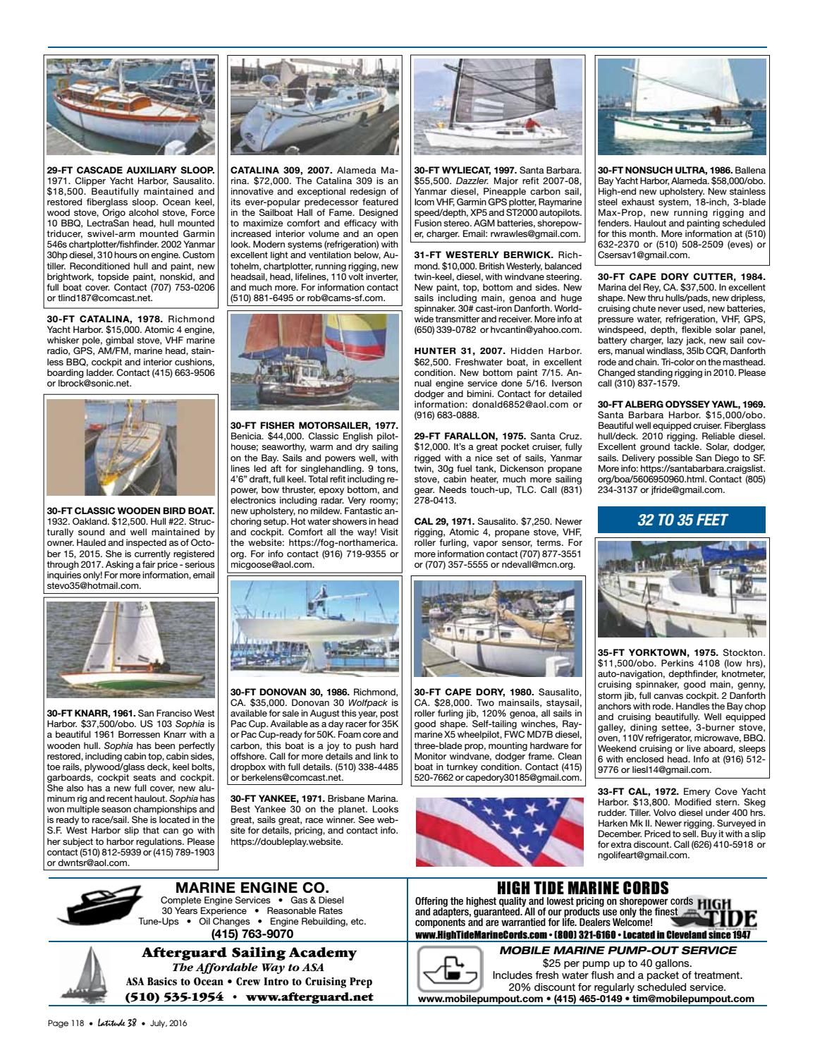 Latitude 38 July 2016 by Latitude 38 Media, LLC - issuu