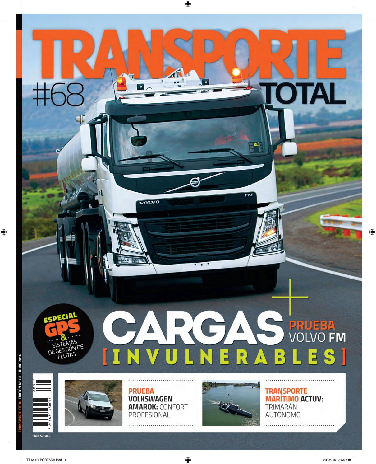 Revista Transporte Total Nº 68 (JUNIO 2016) by RS Chile - issuu