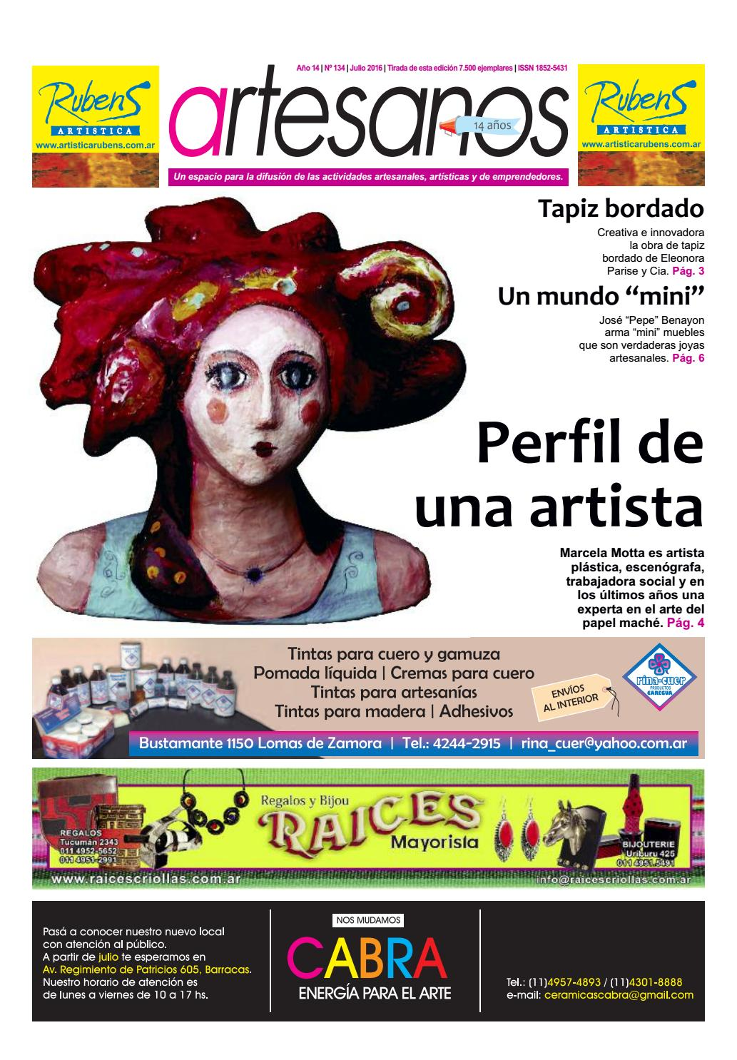 Revista Artesanos | Julio 16 by Revista Artesanos - issuu