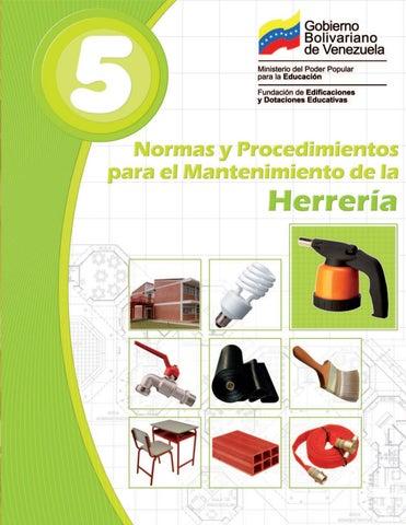 Manual De Mantenimiento 5 Herrería By Unomasalacola 1