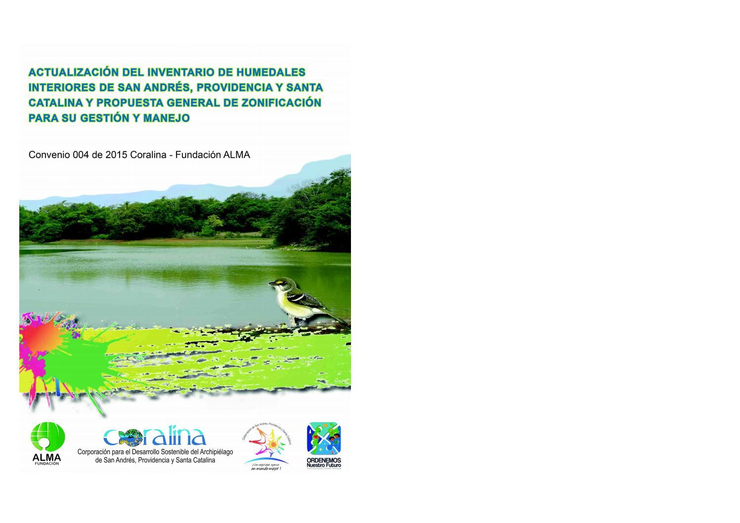 Inventario humedales san andres y providencia by Fundación Alma - issuu