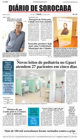 Edição de 02 de julho de 2016 by DIÁRIO DE SOROCABA - issuu e641e11fd40c0