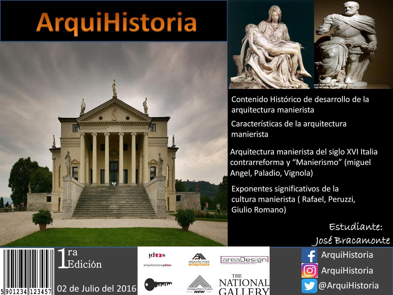 Arquitectura manierista by jos gregorio issuu Arquitectura de desarrollo