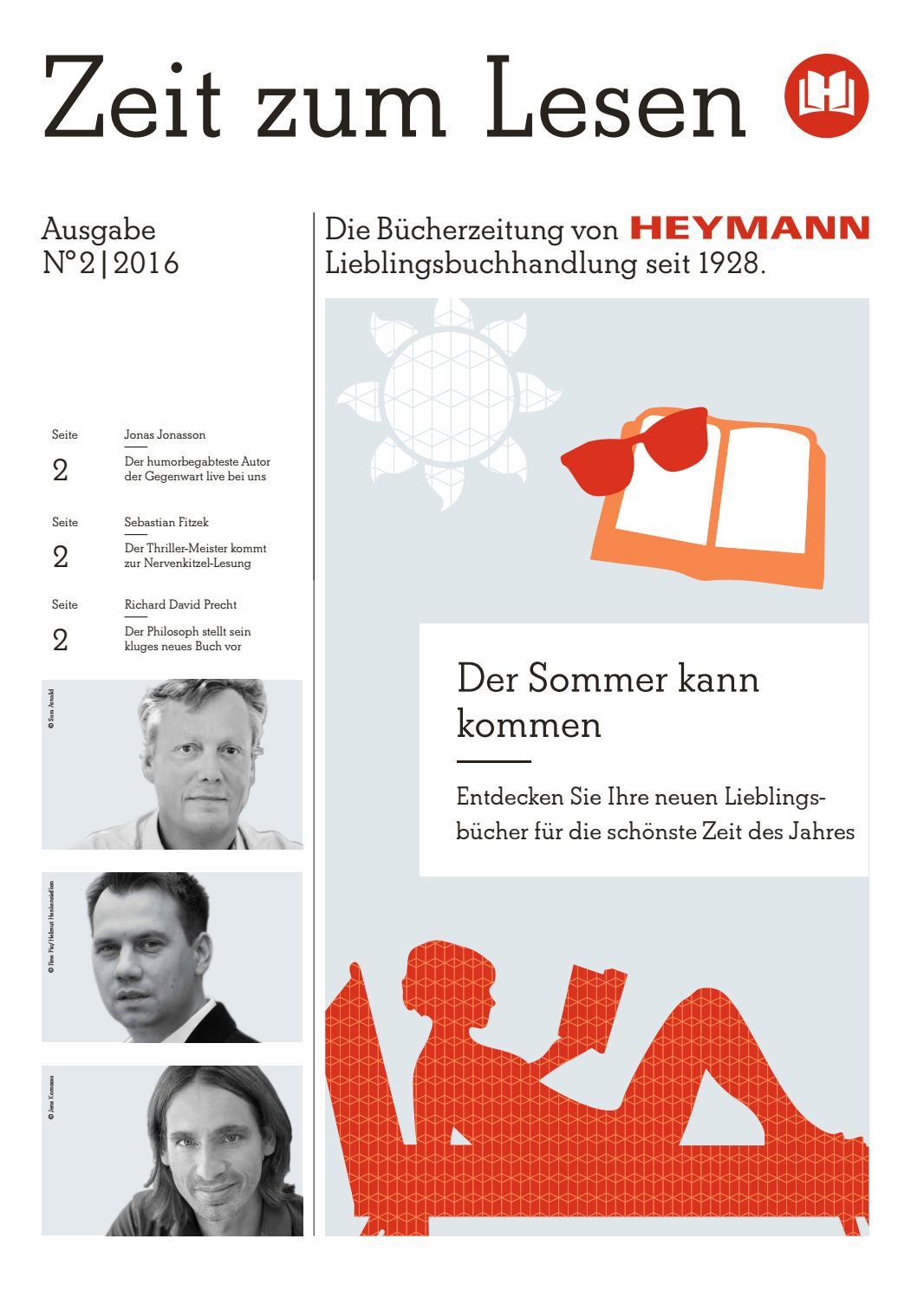 Buchhandlung Heymann - Zeit zum Lesen No. 2 - 2016 by Buchwerbung ...