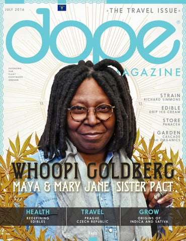 Dope Magazine July 2016 The Travel Issue Oregon By Dope
