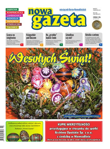 Nowa Gazeta Nr 3 65 By Marek Jary Issuu
