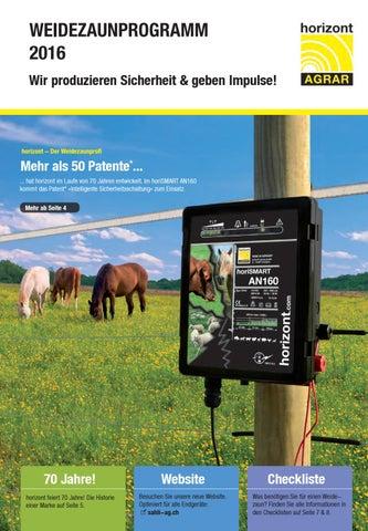 230 Vol Horizont Weidezaungerät Netzgerät für Pferde EquiSTOP M1