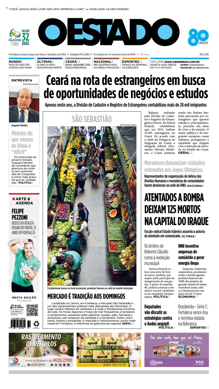 97bee6971940f 04 07 2016 - Edição 22801 by Jornal O Estado (Ceará) - issuu