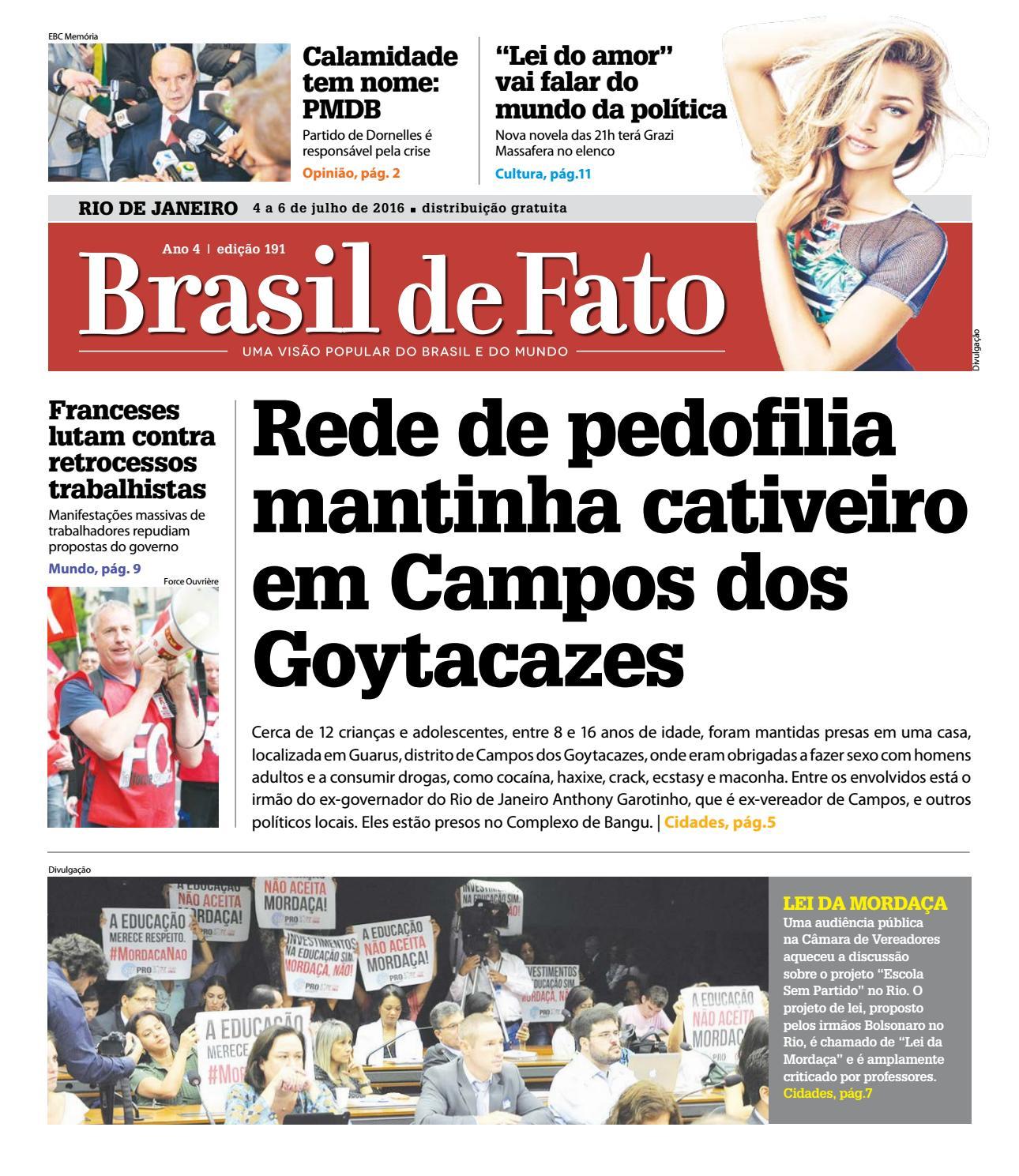 92d3943c5 Brasil de Fato RJ - 191 by Brasil de Fato - RJ - issuu